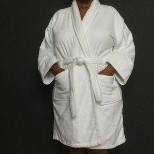 Unisex Luxury Spa Bath Robe Velour 100% Cotton